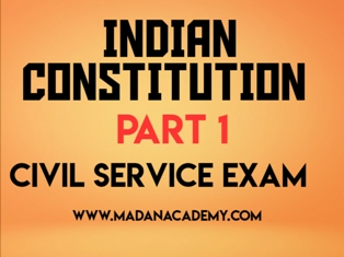 indian contitution -ias