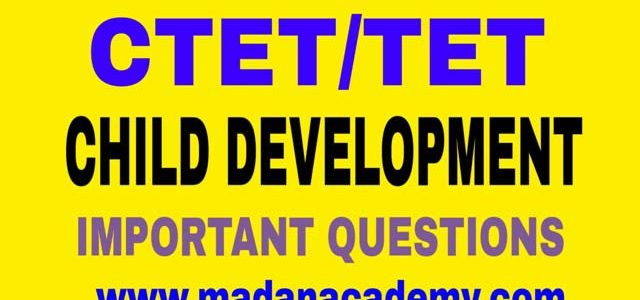 ctet-uptet-child-development-questions