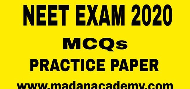 MCQs-NEET-EXAM-BIOLOGY